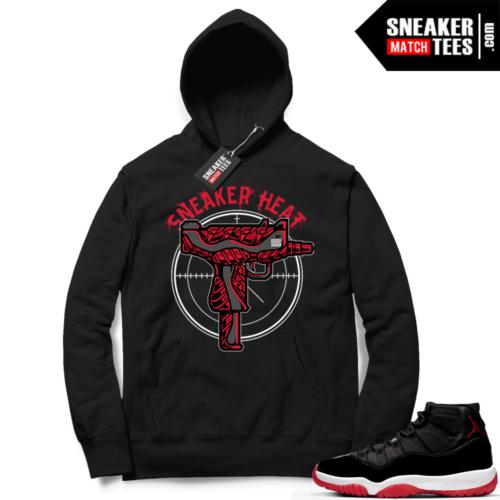 Jordan 11 Bred Hoodies Sneaker Heat