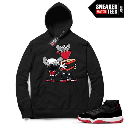 Jordan 11 Bred Hoodies Sneaker Heist