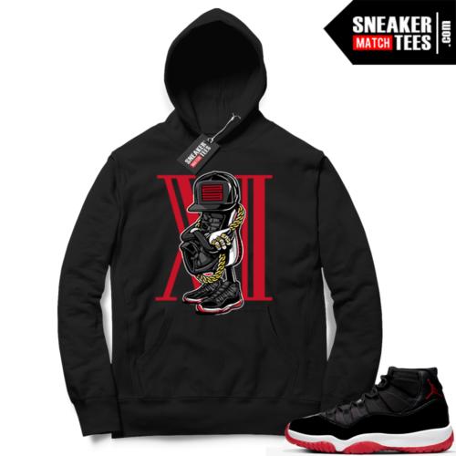 Jordan 11 Bred Hoodies Sneakerhead 11