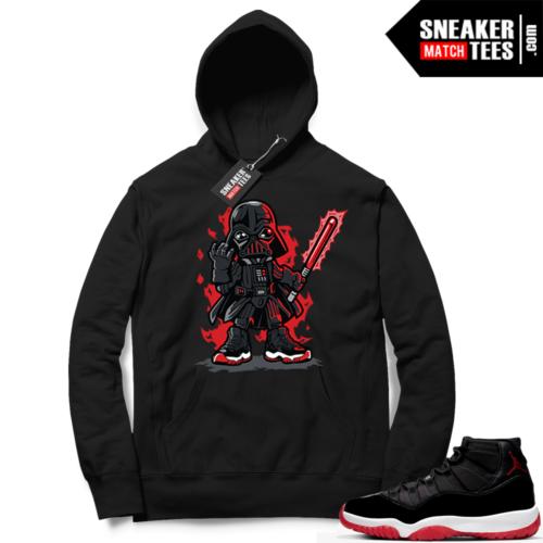 Jordan 11 Bred Hoodies Vader Toon