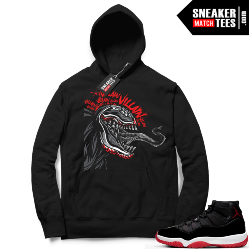 Jordan 11 Bred Hoodies Venom