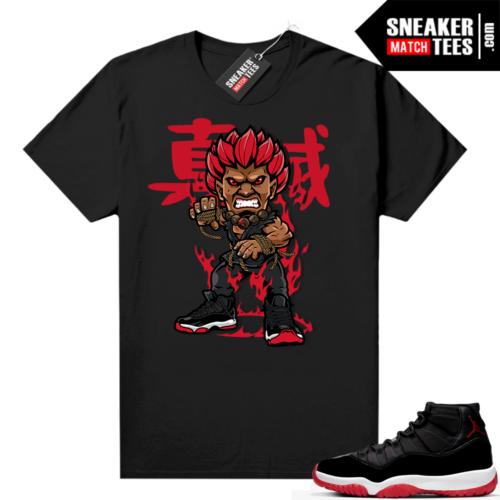 Jordan 11 Bred shirt Akuma