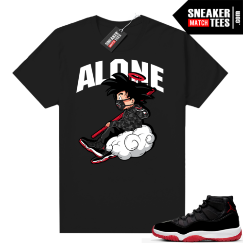 Jordan 11 Bred shirt Alone