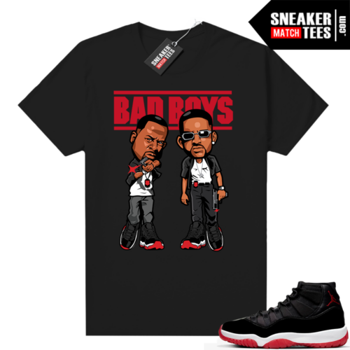 Jordan 11 Bred shirt Bad Boys
