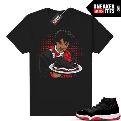 Jordan 11 Bred shirt Bred Platter