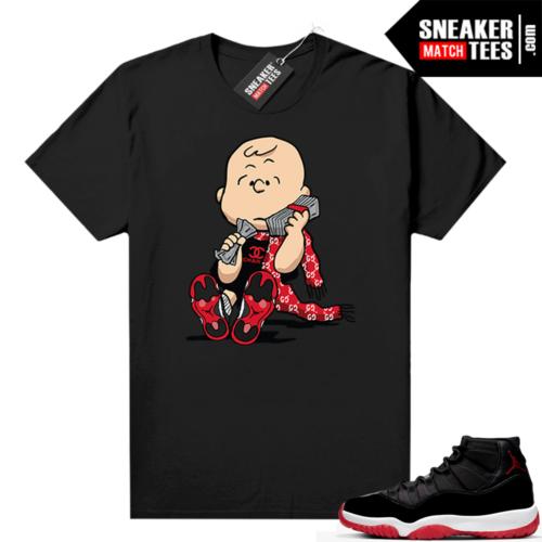 Jordan 11 Bred shirt Designer Charlie