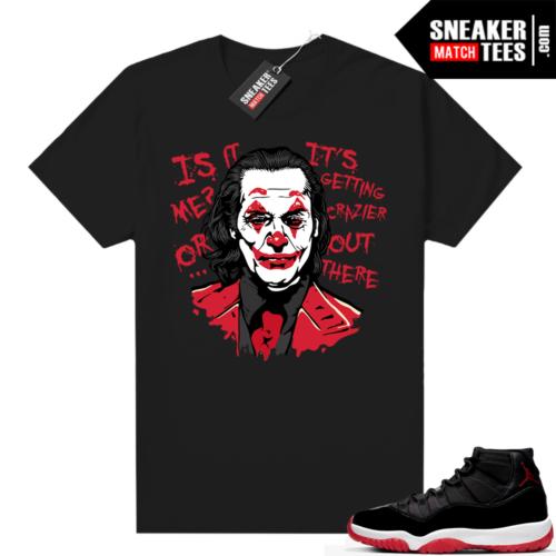 Jordan 11 Bred shirt Joker