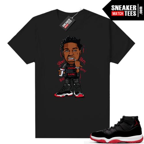 Jordan 11 Bred shirt Kodak Glee
