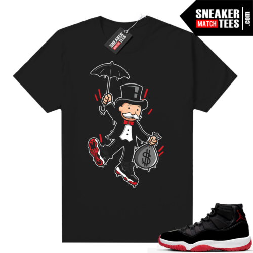Jordan 11 Bred shirt Monopoly Bred