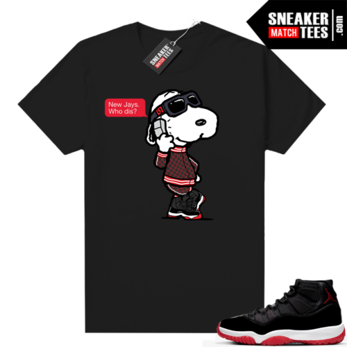 Jordan 11 Bred shirt New Jays