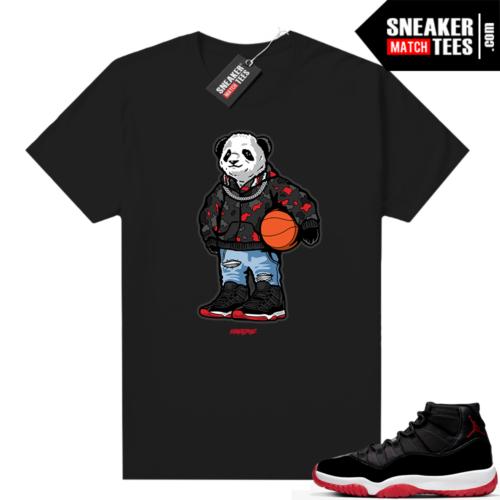 Jordan 11 Bred shirt Rare Air Panda