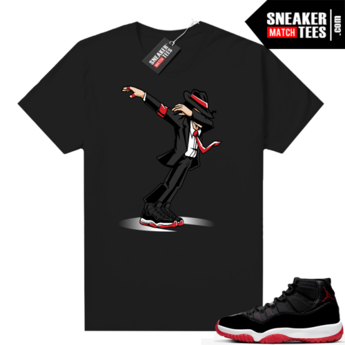Jordan 11 Bred shirt Smooth Criminal