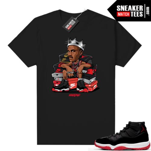 Jordan 11 Bred shirt Sneaker King