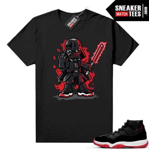 Jordan 11 Bred shirt Vader Toon