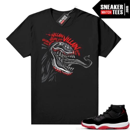 Jordan 11 Bred shirt Venom