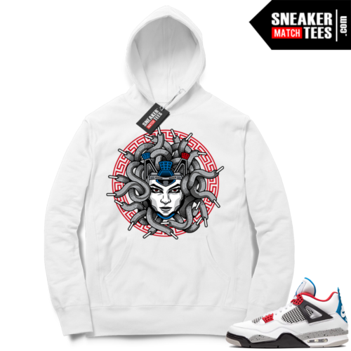 Jordan 4 What the Hoodie Medusa