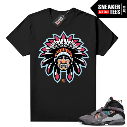 Jordan 8 N7 shirt black N7 Chief