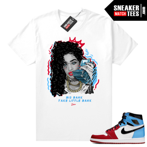 Jordan Fearless shirt white Big Bank