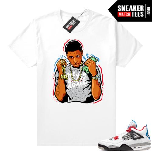 What the 4s matching shirt Young Boy NBA