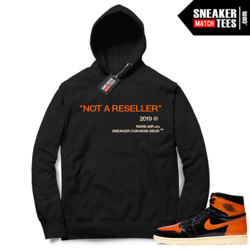 Jordan 1 Shattered Backboard 3 Hoodie Not A Reseller