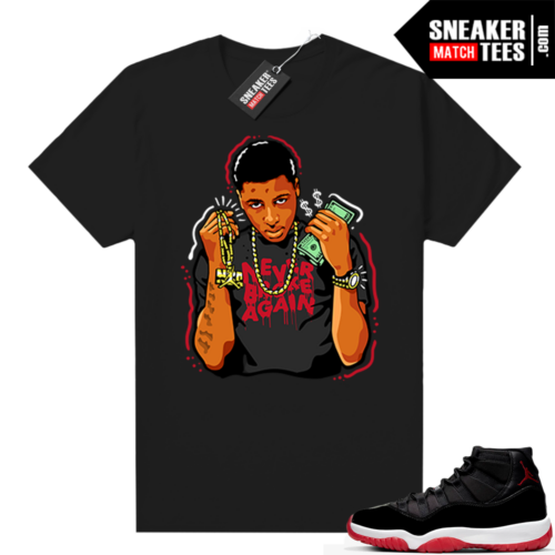 Jordan 11 Bred shirt Youngboy NBA
