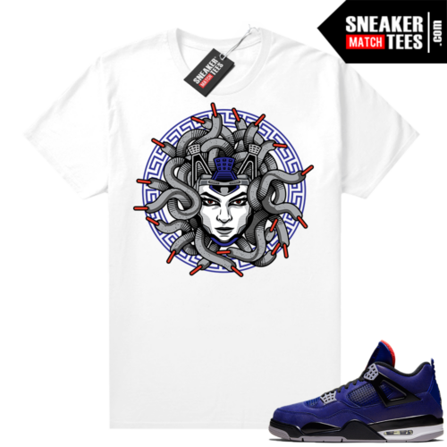 Winter 4s shirt White Medusa