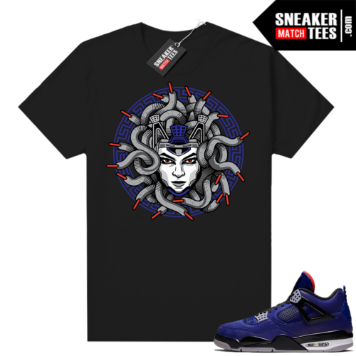 Winter 4s shirt black Medusa