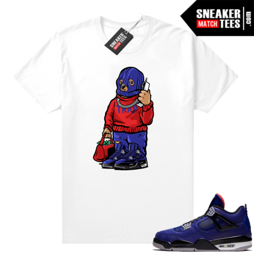 Winter Loyal Blue 4s Shirt Trap Bear