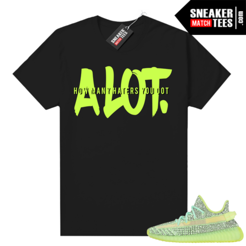 Yeezreel Yeezy 350 shirt black Alot