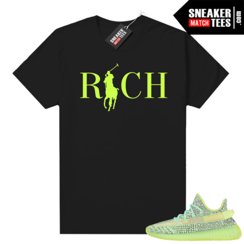 Yeezreel Yeezy 350 shirt black Country Club Rich