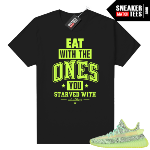 Yeezreel Yeezy 350 shirt black Day Ones Eat