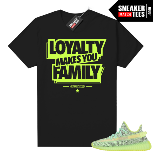 Yeezreel Yeezy 350 shirt black Family