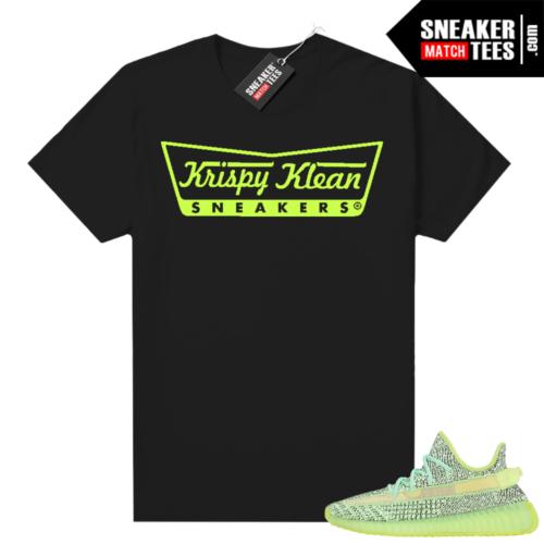 Yeezreel Yeezy 350 shirt black Krispy Klean Sneakers