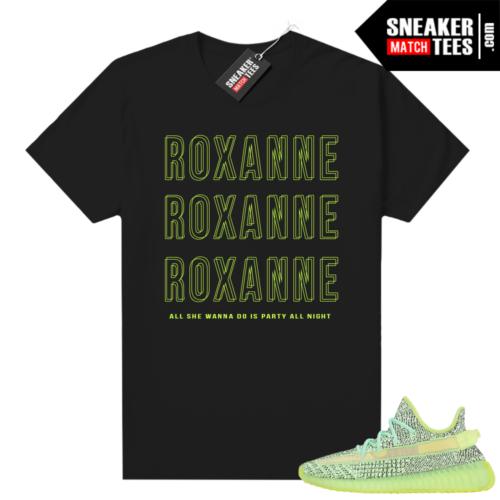 Yeezreel Yeezy 350 shirt black Roxanne