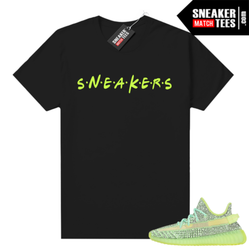 Yeezreel Yeezy 350 shirt black Sneakers