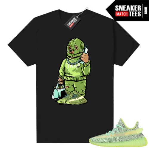 Yeezreel Yeezy 350 shirt black Trap Bear