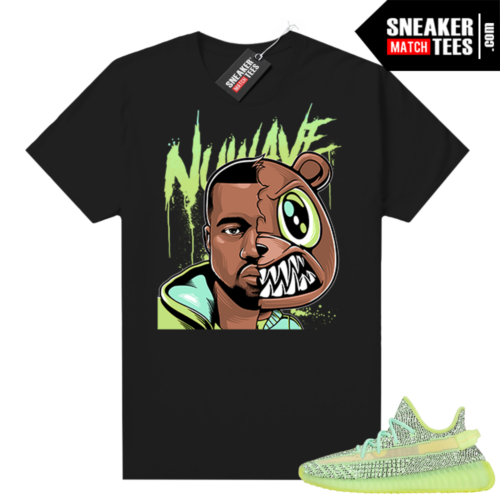 Yeezreel Yeezy 350 shirt black Yeezy Bear Faceoff