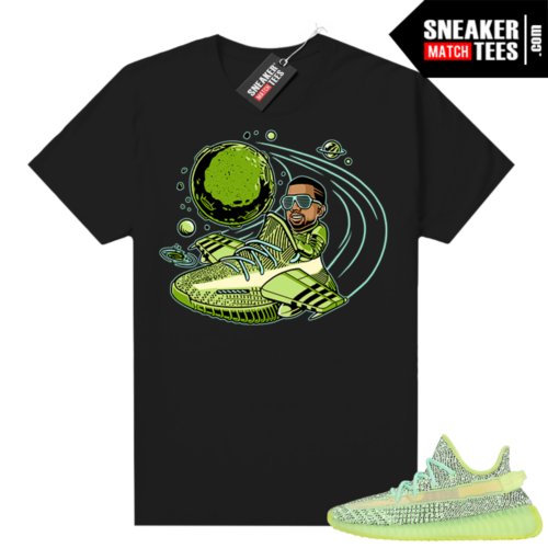 Yeezreel Yeezy 350 shirt black Yeezy Flight