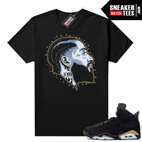 DMP 6s shirt black sneaker match Prolific
