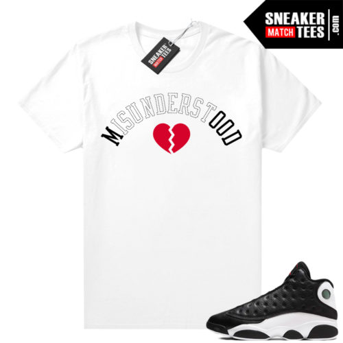 Jordan 13 Reverse He Got Game shirt White Misunderstood