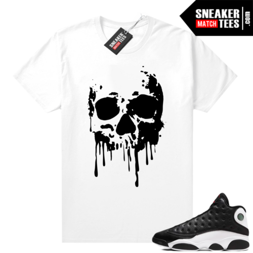 Jordan 13 Reverse He Got Game shirt White Skull Drip