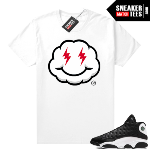 Jordan 13 Reverse He Got Game shirt White Smiley Cloud