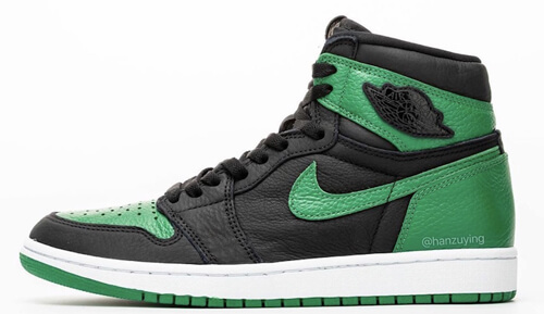 Jordan release dates Feb Jordan 1 Pine Green