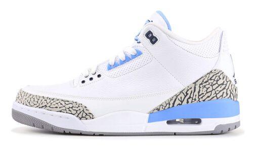 Jordan release dates March Jordan 3 UNC