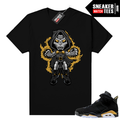 Jordan retro 6 DMP shirt Dr Doom