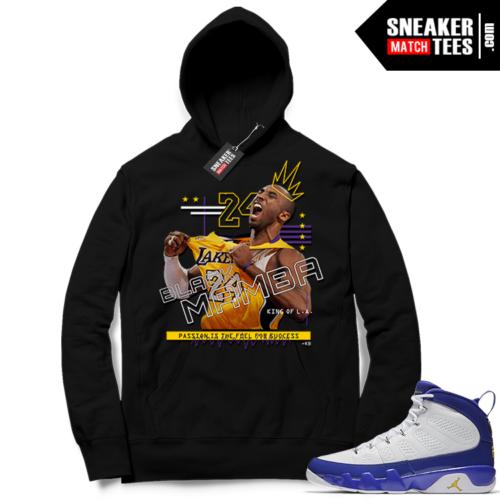 Kobe Bryant Hoodie Jordan 9 Kobe