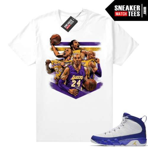 Kobe Bryant t-shirt match