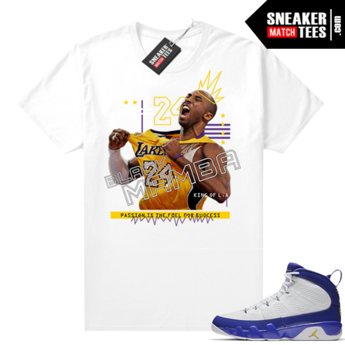Kobe shirt to match Jordan 9 Kobe