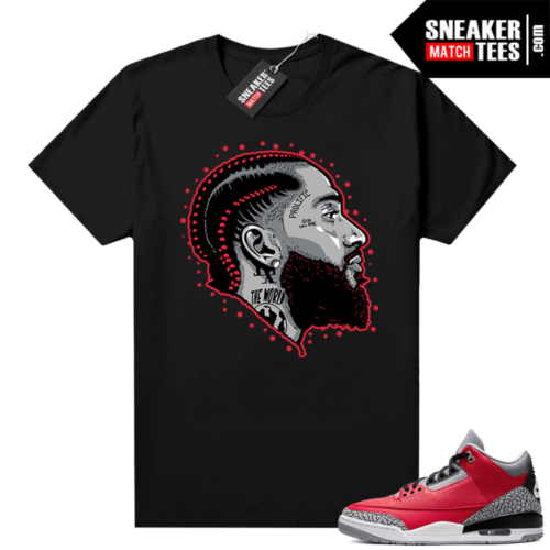 Red Cement 3s shirt Prolific