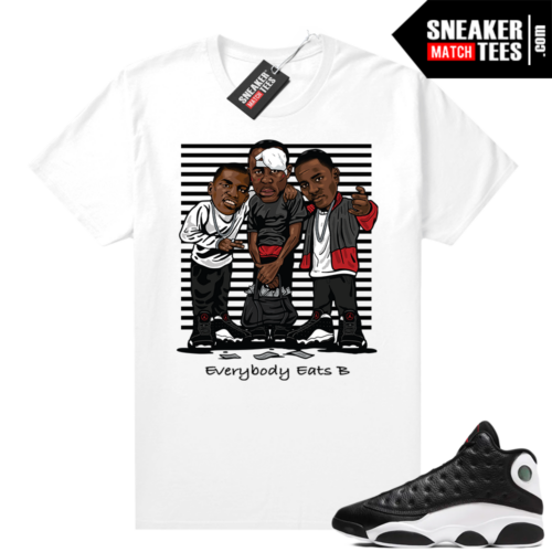 Reverse He Got Game Jordan 13 shirt Everybody Eats B